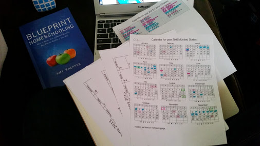 One homeschoolers experience with blueprint homeschooling parts five six calendars and making it work i liked being handheld through the calendar process i needed that and amys conversational tone helped me malvernweather Images